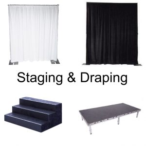 Staging & Draping